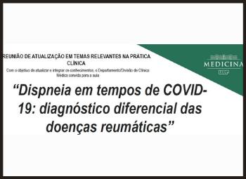 Dispneia em tempos de COVID-19: diagnóstico diferencial das doenças reumáticas
