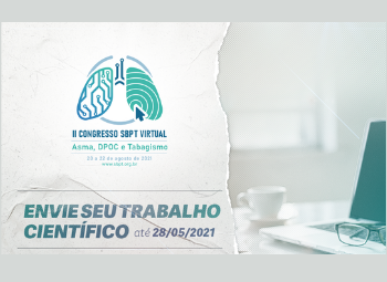 II Congresso SBPT Virtual – Envie seu trabalho científico