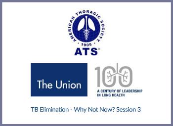 The Union e ATS organizam série de debates sobre a tuberculose